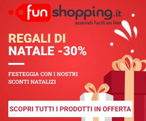 Funshopping.it - giocattoli - abbigliamento - dolci natalizi - offerte speciali - sconti